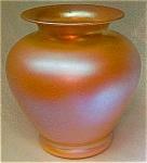 Durand Pink Iridescent Vase- 8 5/8 Inch High