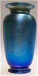 Durand Signed - 9 3/8 Inch Blue Irid