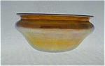 Quezal Gold Iridescent 2 Inch Bowl