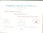 Pairpoint Manufacturing Co.catalog