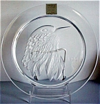 Lalique 1973 Series Plate