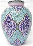 A Keslinger Antiques Enameled Vase