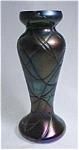 Amethyst Iridescent Bohemian Vase