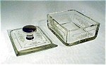 Hawkes Intaglio Crystal Sterling Box