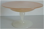 Apricot Jade Compote. Stevens And Williams