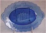A Keslinger Antiques Cobalt Tray