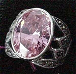 A Keslinger Antiques Pink Tourmaline Ring