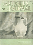 The Antiques Journal March 1954