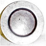 Pewter Salt Or Butter Pat Plate