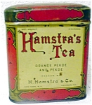 Hamstras Tea Tin
