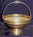 Brass Brides Basket