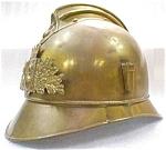 French Fireman Brass Hat