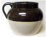 Brown Glaze Beanpot