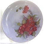 H/p Floral Plate
