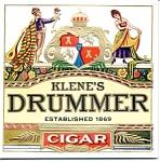 Klenes Drummer Cigar Label