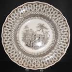 Brown Transfer Penn's Treaty Soup C. 1835