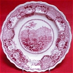 Adams Historical Red Transfer Plate 1835