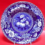 Fruit And Flowers Pearlware Soup Bowl 1825