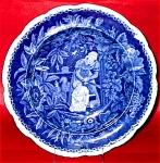 Enoch Wood Blue Transferware Soup 1825