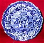 Pearlware Hunting Scene Plate With Dogs 1825