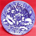 Wedgwood Water-lilly Blue Plate 1900