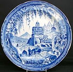 Swansea Cambrian Pottery Monopteros Plate