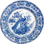 Ornithological Series Blue Transfer Plate