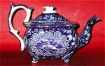 Quadruped Variation Transfer Teapot C 1825