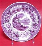 Adams Palestine Small Purple Plate 1835
