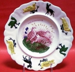 Child's Plate The Partridge C 1830