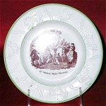 Dr Syntax Sells Grizzle Child's Plate 1830