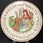 Red Riding Hood Child's Plate