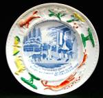 Child's Plate My Grandfather 1835