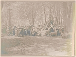 Thanksgiving Colonial American Pageant Photograph 1890 Era