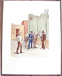 Us Army Dragoons Mexican War Lithograph