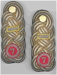 7th Regiment Shoulder Knots