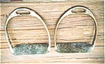Pair Of Brass Stirrups