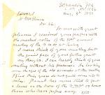 Scranton Pennsylvania Mexican War Vet Letter