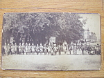 "Wild West Pageant Photograph With ""danl Boone"" 1890s Era"