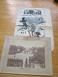 Victor Hugo Funeral Photograph & 1869 Paris Journal L' Eclipse