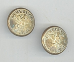 Rhode Island Military Buttons Hedley's National Band 1880 Vintage