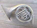 Circular Cornet Brass Horn