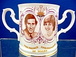 Loving Cup - First Visit Of The Prince & Princess Of Wales To Wales.
