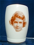 C. 1937 Beaker Of Princess Elizabeth By Wedgwood & Co.