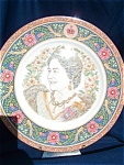 A Coalport L/e Plate For 85th Birthday Of The Queen Mother.