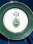 Queen Elizabeth Ii Silver Jubilee Plate. Limited Edition Of 300.