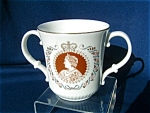 Royal Doulton Loving Cup For The 80th Birthday Of The Queen Mother..