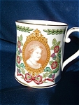 Spode Mug For The 80th Birthday Of The Queen Mother.