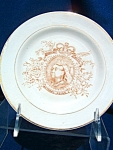 1897 Queen Victoria Diamond Jubilee Plate. (V179)