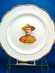 C.1896-1900 Lieut.-col. Baden-powell Plate - Boer War.